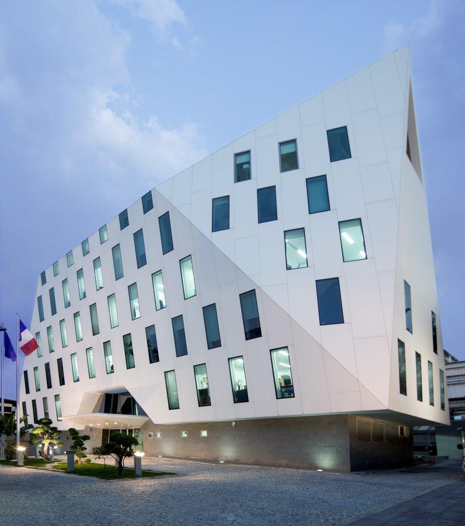 L'ambassade de France à Bangkok, Thaïlande