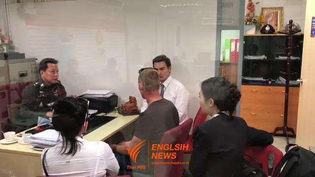 Deux touristes estoniens ont reçu une amende 20.000 baht pour avoir fumé dans un avion (Photo : Thai PBS)