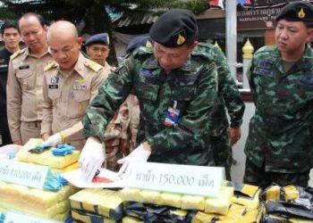 260.000 pilules de méthamphétamine ont été saisies dans la province de Chiang Rai, dans deux affaires distinctes
