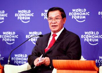 Le Premier Ministre du Cambodge, Hun Sen