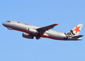 Un Airbus A320 de JetStar Asia, la compagnie exploitera bientôt une nouvelle ligne entre Singapour et Hat Yai