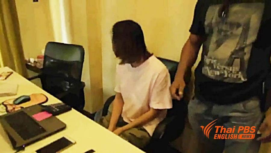La police a arrêté 7 ressortissants chinois qui organisaient des paris en ligne clandestins à Pattaya