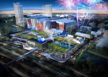 Le futur centre commercial Central Plaza de Nakhon Ratchasima