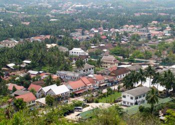 La ville de Luang Prabang, au nord du Laos