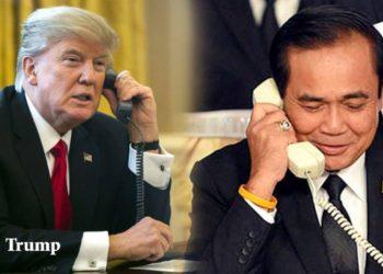Le Premier Ministre, Prayut Chan-o-cha, rencontra prochainement le Président américain à l'occasion d'une visite officielle