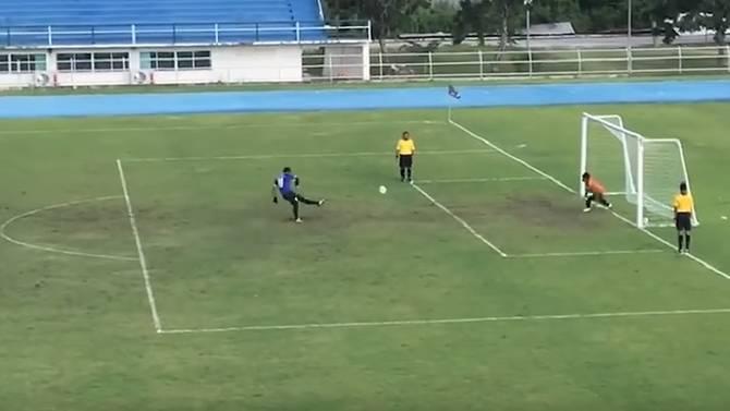 Le moment du penalty manqué qui ne l'était pas