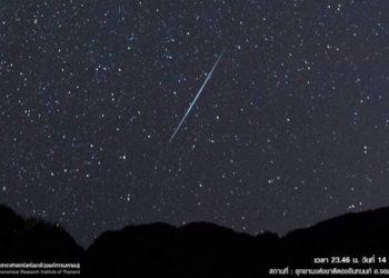 Une Pluie d'Étoiles Filantes Attendue dans la Nuit du 14 Décembre