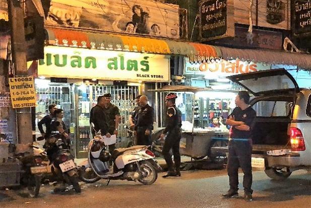 L'un des magasins visés par les autorités pour avoir vendu cigarettes et whisky en contrebande