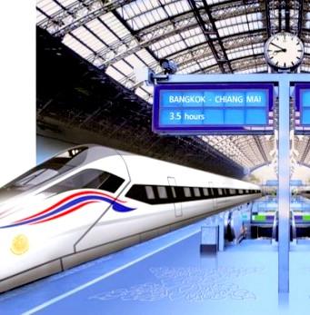 Le train à grande vitesse entre Bangkok et Chiang Mai devrait coûter 420 milliards de bahts selon les dernières estimations