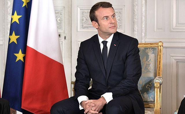 Le Président français Emmanuel Macron a reçu 140 dirigeants d'entreprises étrangères lundi soir, au Château de Versailles