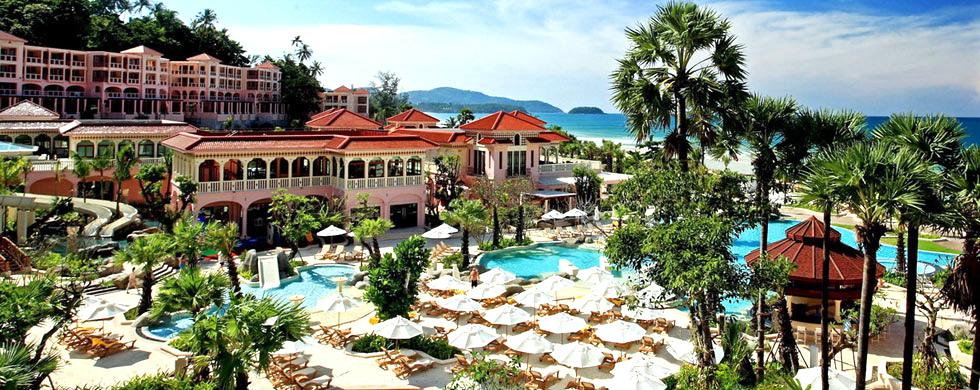 L'hôtel Centara Grand Beach Resort de Phuket