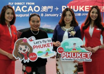 AirAsia inaugure ses vols quotidiens Macao-Phuket