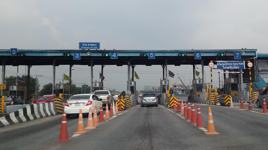 Les tarifs des péages de l'autoroute entre Bangkok et Pattaya augmenteront prochainement