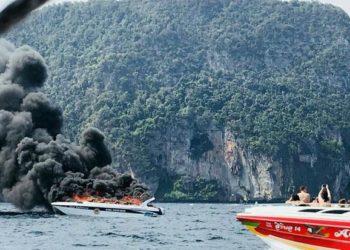 Koh Phi Phi : un mort et des blessés après l'incendie d'une vedette