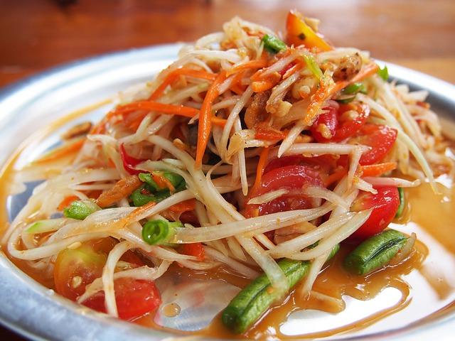 Krabi a été désignée province de Thaïlande où les salades Som Tam sont les plus chères de Thaïlande