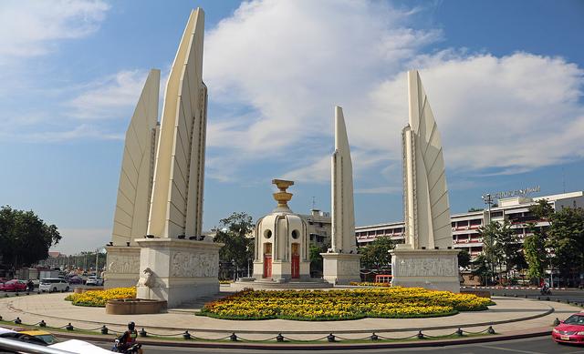 Une plainte a été déposée contre 50 personnes après une manifestation qui s'était tenue près du Monument de la Démocratie