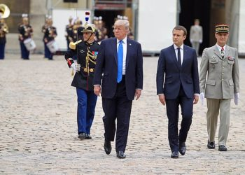 Macron effectuera une visite d'État aux États-Unis en avril
