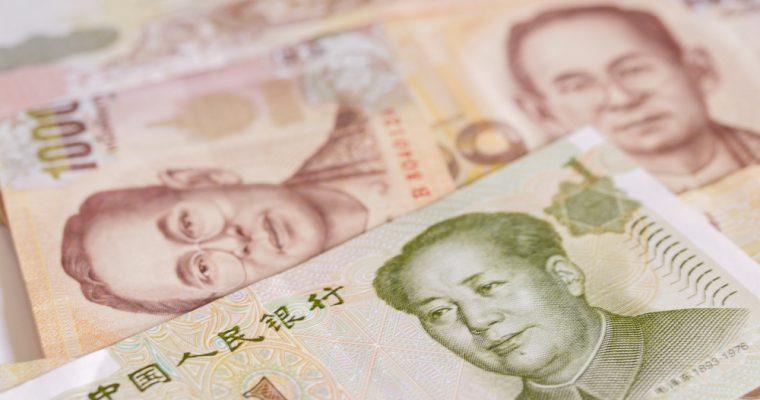 Afin de promouvoir les échanges entre les deux pays, la Chine a autorisé le commerce direct entre yuan et baht thaïlandais