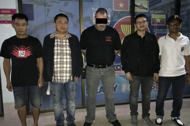 Un autre membre présumé des Hells Angels Pattaya a été arrêté