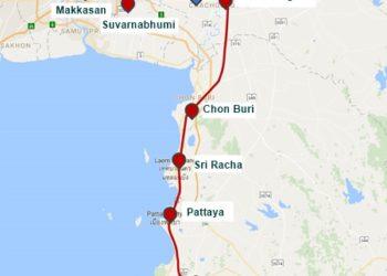Le train à grande vitesse entre 3 aéroports thaïlandais validé