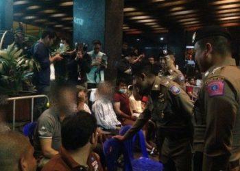 121 étrangers arrêtés lors d'opérations à travers la Thaïlande