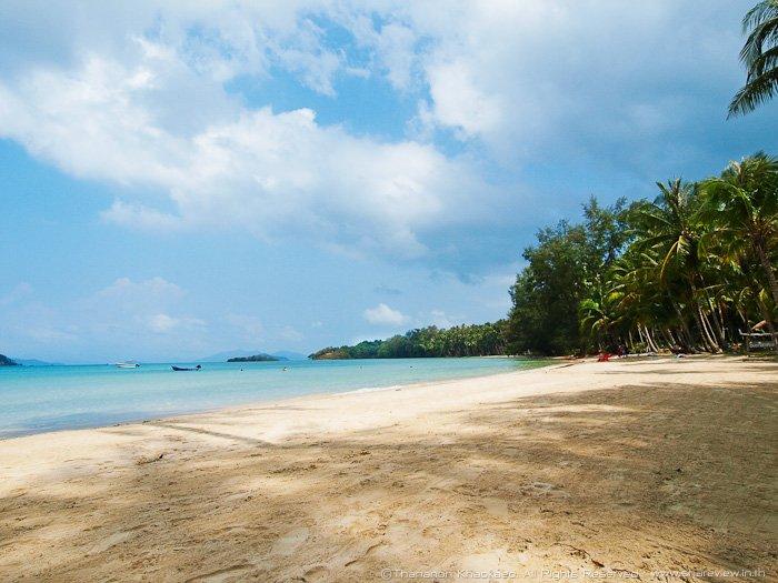 Une plage sur l'île de Koh Mak