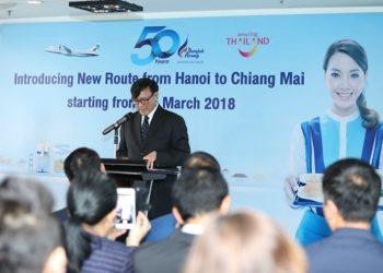Bangkok Airways va ouvrir une ligne Chiang Mai-Hanoï
