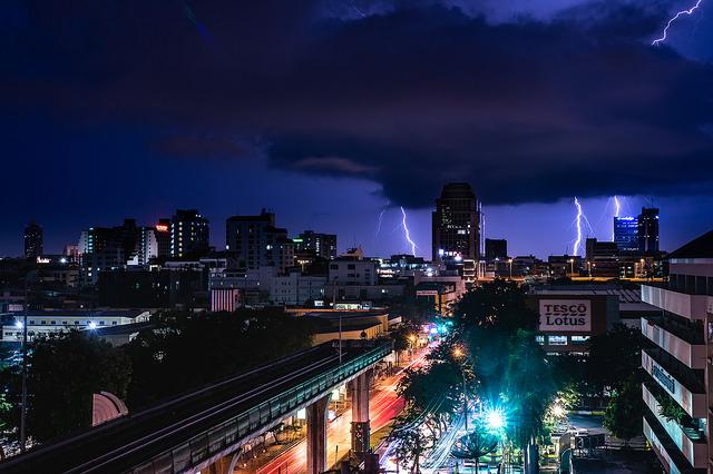 Des orages et tempêtes d'été sont attendus du 15 au 18 avril sur la plupart du territoire thaïlandais