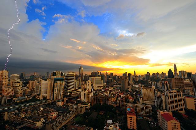 Une vague de pluie et de fraîcheur est attendue sur Bangkok et la partie septentrionale de la Thaïlande pour le week-end prochain