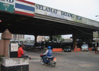 Construction d'une nouvelle autoroute de Songkhla à la frontière malaisienne