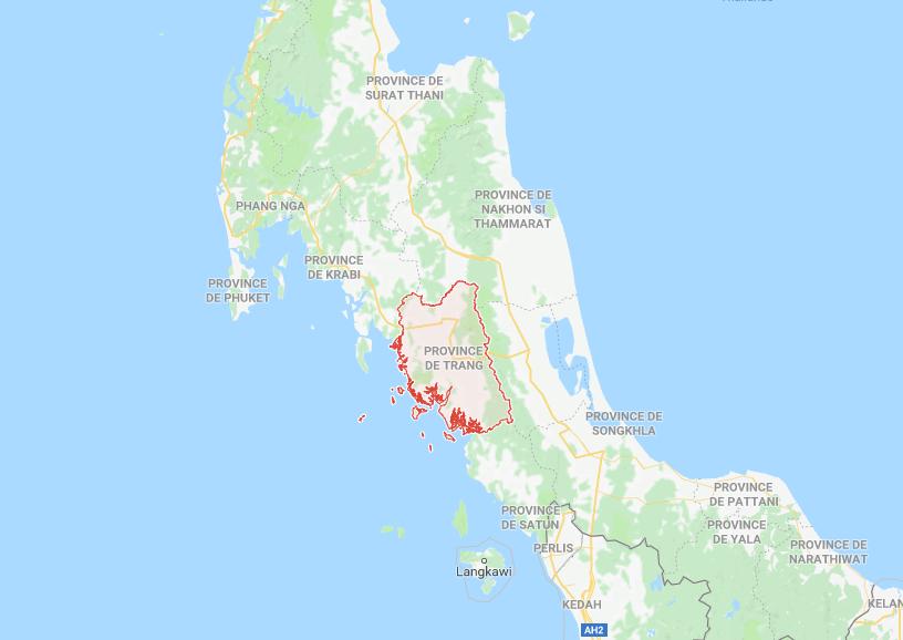 Un moine bouddhiste a été arrêté dans la province de Trang avec plus de 88.000 pilules de méthamphétamine en sa possession