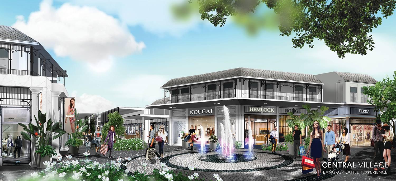 Le groupe thaïlandais Central se prépare à construire le plus grand centre commercial de Thaïlande