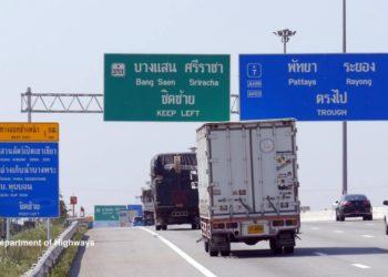 Nouveaux frais de péage sur l'autoroute Bangkok-Pattaya