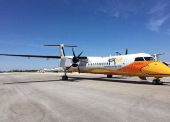 Buriram : un avion Nok Air oblige l'aéroport à fermer