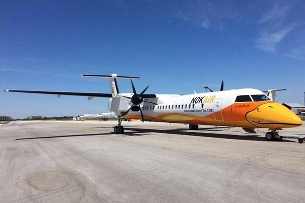 L'aéroport de Buriram a dû cesser ses activités lundi après un problème technique rencontré par un appareil Bombardier Q400NextGen de la compagnie Nok Air