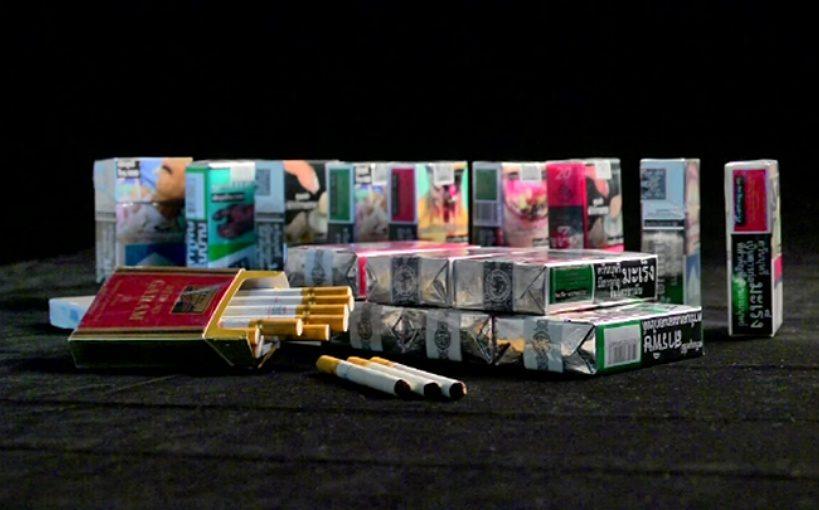 La consommation de cigarettes de contrebande en Thaïlande a doublé sur un an