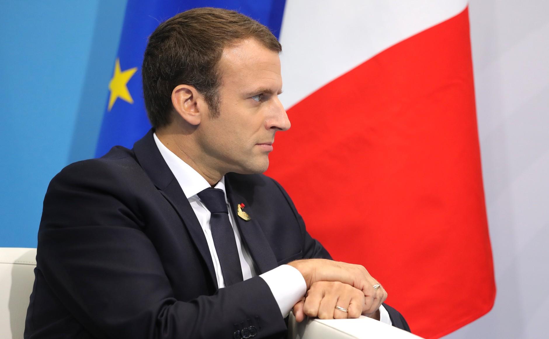 Le président français Emmanuel Macron a prononcé un discours devant le Parlement européen de Strasbourg, mardi