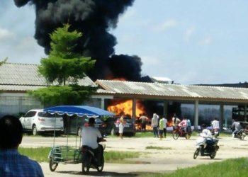 Phang Nga : 3 blessés après un incendie de speedboat
