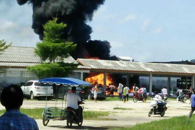 Un incendie de speedboat a fait 3 blessés dans la province de Phang Nga