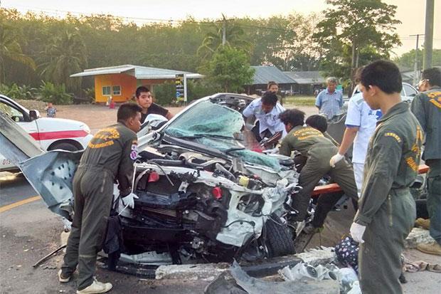 La période de Songkran, le Nouvel An Thaïlandais, a une nouvelle fois été particulièrement meurtrière sur les routes du pays