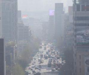 Les taux de particules fines flambent en Corée du Sud