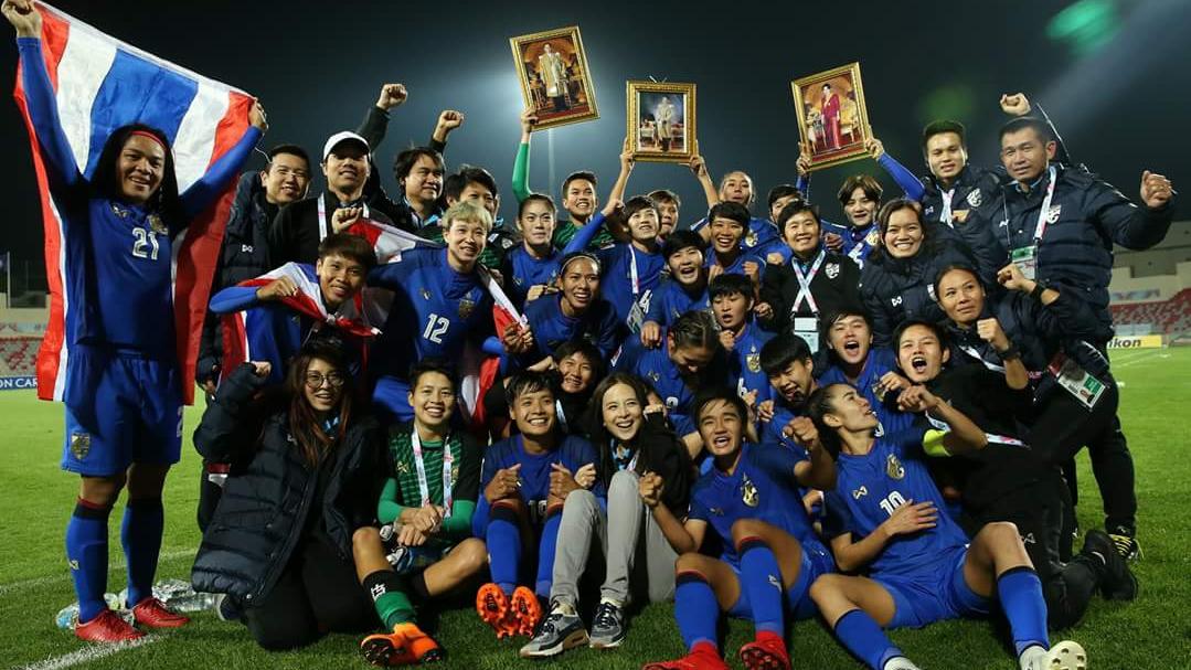 La Thaïlande s'est qualifiée pour la Coupe du Monde féminine de football 2019, après avoir battu les Philippines