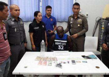 Phuket : un nigérian arrêté avec 45 grammes de cocaïne