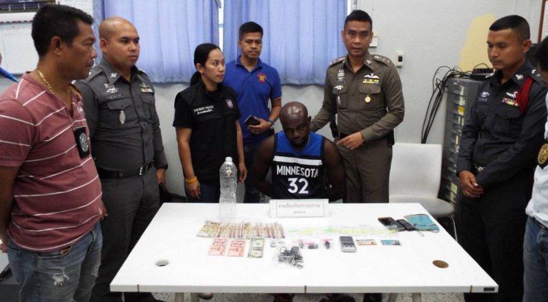 Un homme nigérian a été arrêté à Phuket avec près de 45 grammes de cocaïne