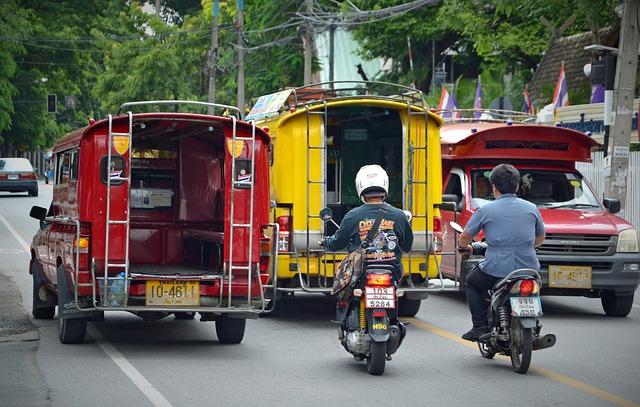 La ville de Chiang Mai inflige désormais des amendes aux conducteurs dont les véhicules dépassent les seuils de pollution