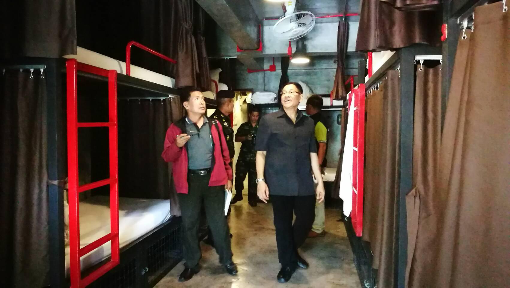 Dix hôtels en infraction avec la loi ont été découverts à Ao Nang, dans la province de Krabi, après des contrôles menés par les autorités
