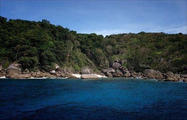 Les îles Similan fermeront prochainement pour une durée de cinq mois
