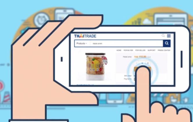 Le Gouvernement thaïlandais espère doubler les ventes de produits nationaux sur son espace de vente en ligne