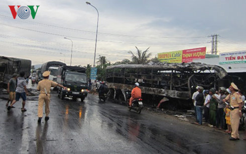 Près de 3500 personnes sont décédées sur les routes du Vietnam au cours des cinq premiers mois de l'année 2018