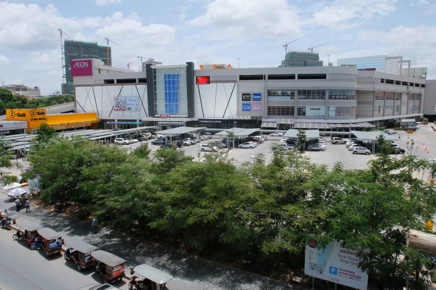 Le groupe japonais Aeon a ouvert son deuxième centre commercial dans la capitale cambodgienne